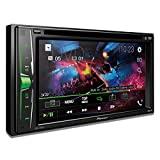 """Receptor de DVD multimedia Pioneer AVH-200EX con pantalla WVGA de 6.2 """"y Bluetooth integrado"""