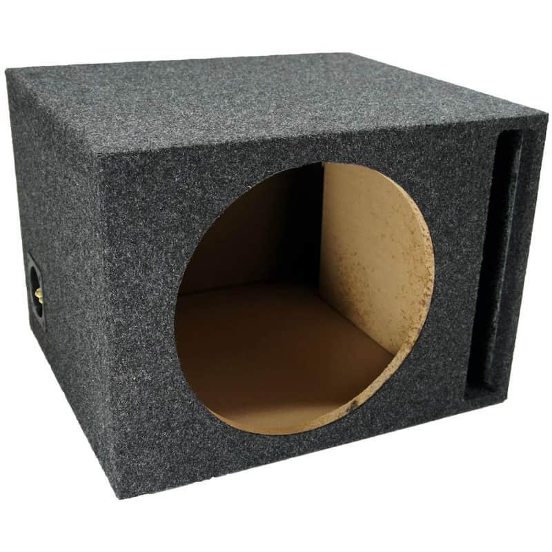 Caja de subwoofer estéreo de un solo ventilador de American Sound Connection