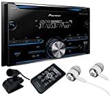 Pioneer FH-X700BT Receptor estéreo para automóvil de doble DIN CD / MP3 / USB en el tablero con Bluetooth, Pandora Link, MIXTRAX y compatibilidad con iPod