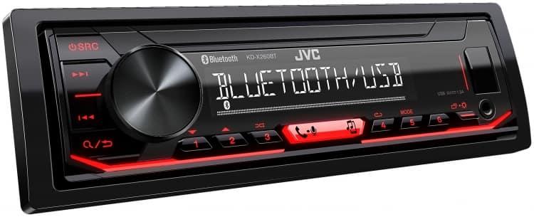 Receptor de medios digitales JVC KD-X260BT