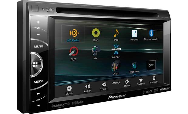 Estéreo con pantalla táctil Pioneer AVH-X3600BHS
