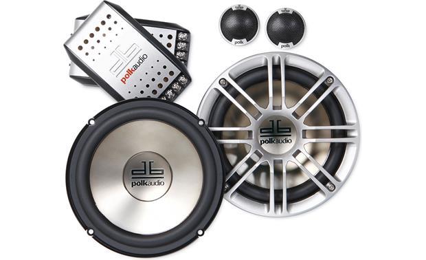 Análisis del altavoz de componentes Polk Audio DB6501