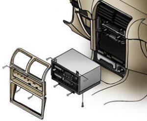 Cómo instalar una radio de coche