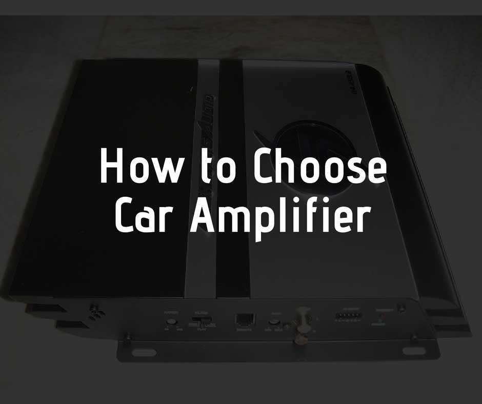 Cómo elegir el mejor amplificador de coche para tu coche